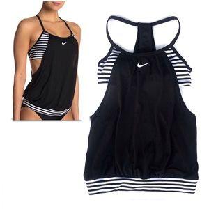 NIKE Swim Women's Layered Sport Tankini Top